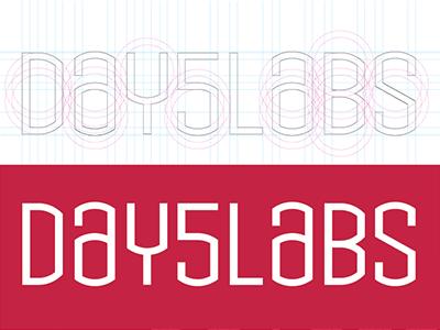 Day5 Typo logo branding typography type typeface