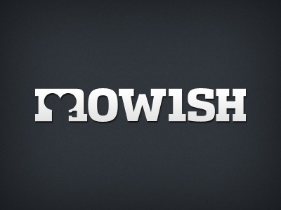 mowish mowish logo movie cinema film logotype