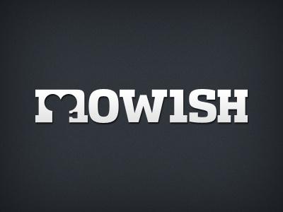 mowish mowish logo movie cinema film logotype