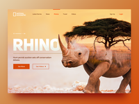 National Geographic - Rhino Website 🦏