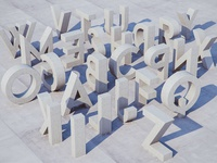 Concrete Typography