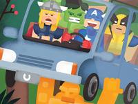 Marvel Road Trip