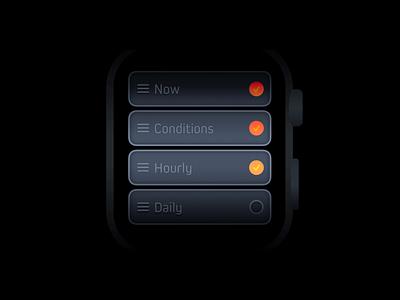 Weather mini 1.2 poster branding apple watch independent list weather watchos watchapp