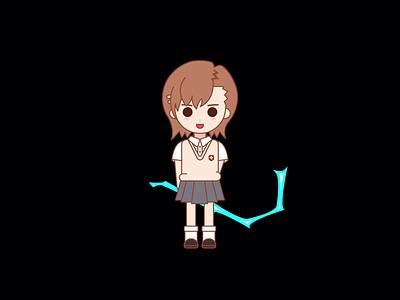 Misaka vector illustration