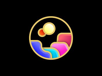 Kepler-16b dribbbleweeklywarmup kepler icon vector illustration