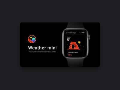Weather mini