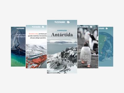 Antarctic Expedition: a visual story-like narrative comandante ferraz fullscreen volcano seal penguins story antarctic storytelling