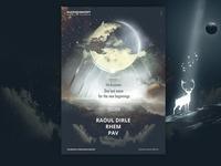 The Ascension - 432hz Concept Poster