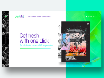 Freshclick.ro Web Design