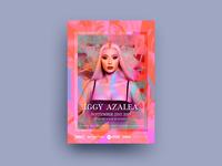 Iggy Azaela Poster Artwork