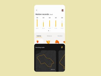 Running App Interaction