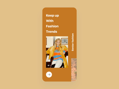 Dress collocation App store fashion design dress collocation video fashion clean mobile principle animation card design ux app ui