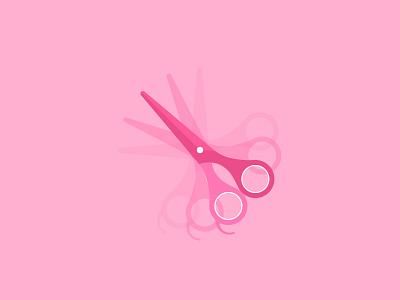 Scissors loading scissors hairdressing