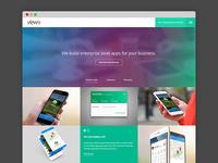 Homepage design Concept