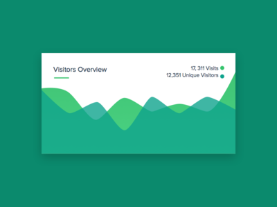 Visitors Overview Graph