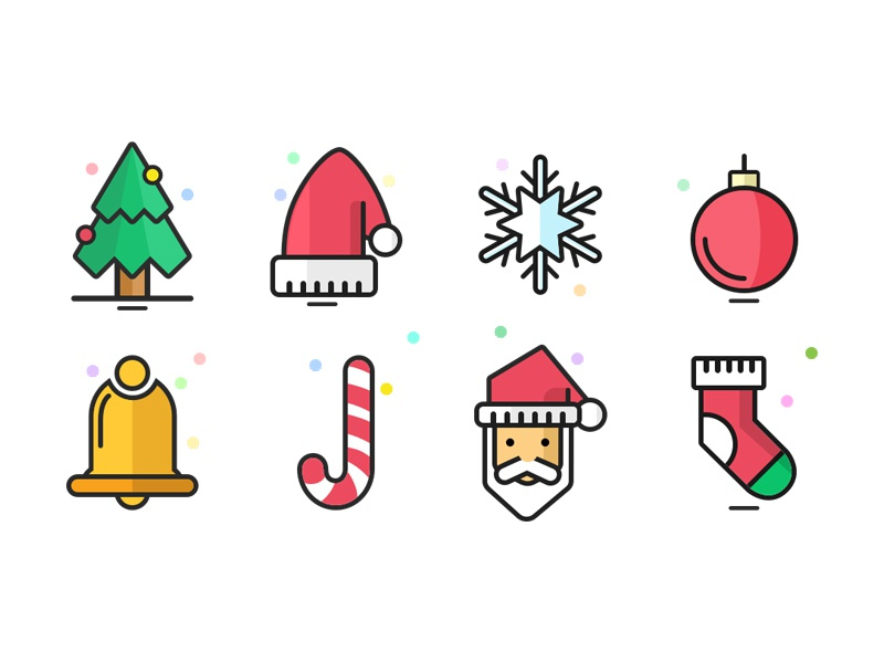 Free Christmas Icons sketch icons free christmas