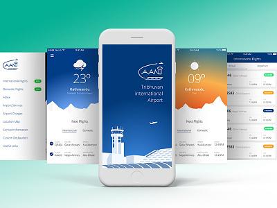 Flight Schedule App fight schedule app mobile app ios app airport nepal