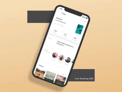 A simple interface design!