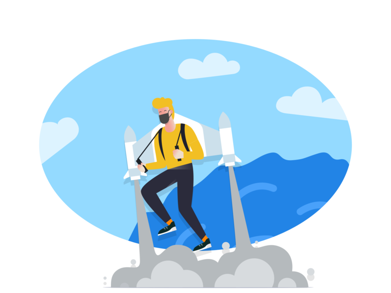 App paid illustration design 2 图标 logo icon design illustration card colour ux app ui