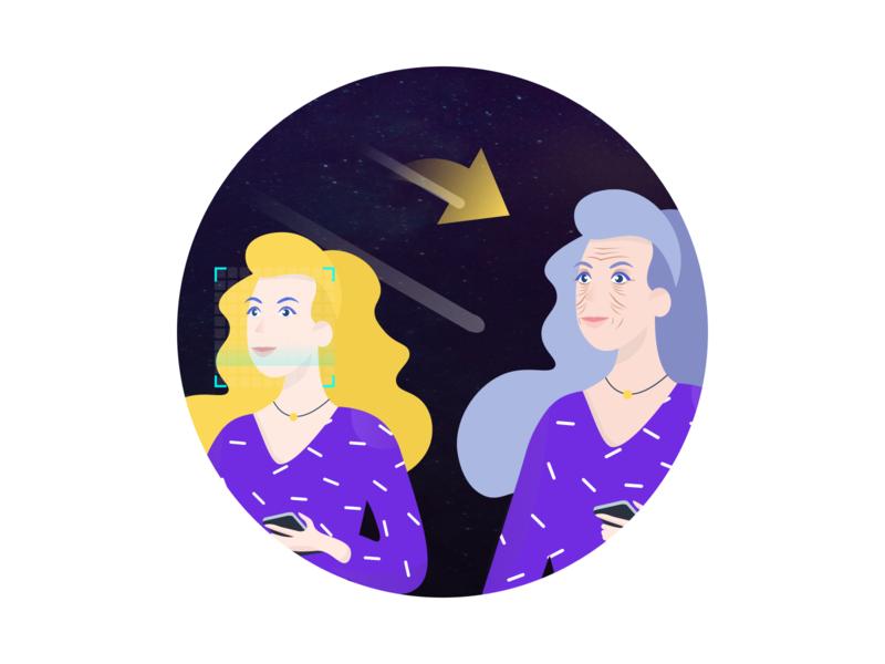 Time Machine 图标 logo icon design illustration card colour ux app ui