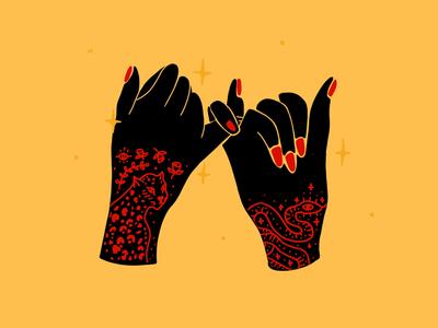 Trust tattoo pinky swear trust hands