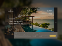 Four Seasons Hotel Concept Website