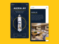 Mobile Web Concept for Y.CO