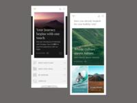 Sriwijaya Website Mobile Concept