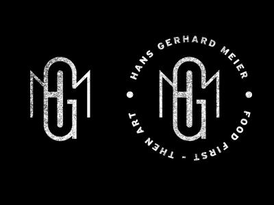 HGM icons logo vector monogram