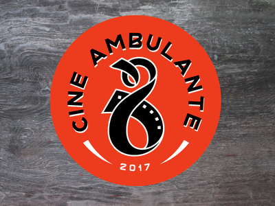 Cine Ambulante Logo 8mm t-shirt sketch logo