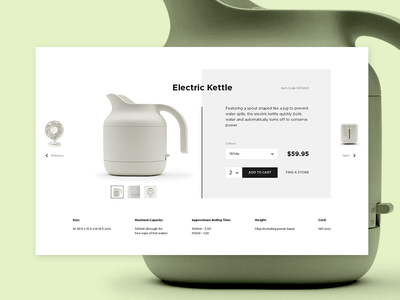 MUJI Redesign Concept ui ux shop concept redesign muji ecommerce clean
