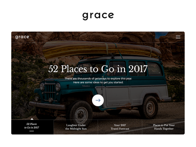Grace UI Kit Slider slider article shopping product page ui kit download ui ux ecommerce corporate template freebie