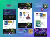 Startup news portal concept