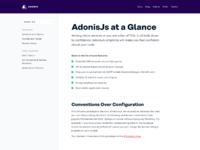 Adonis   docs