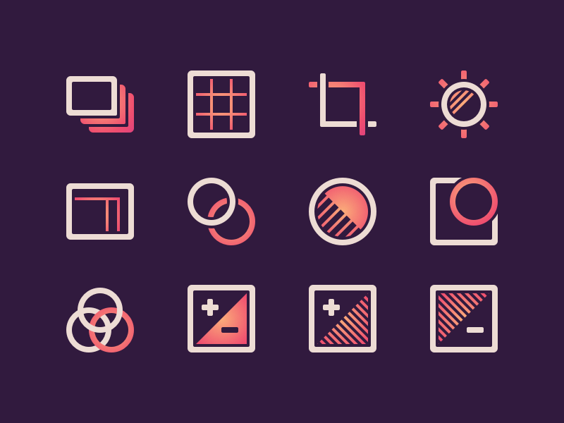 Download Photo Icons – Freebie