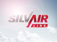 SilvAirLine logo