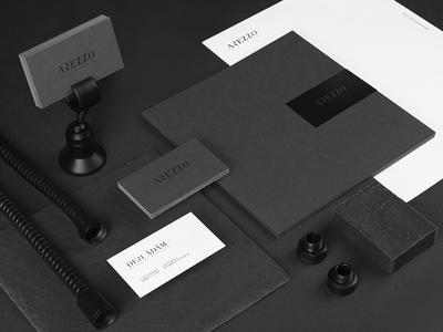 Arezzo sanitary bathroom minimal black gray identity branding