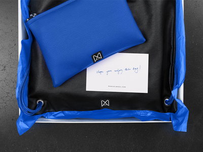 Manual Bags / In progress.. vibrant concrete black blue manualbags manual branding