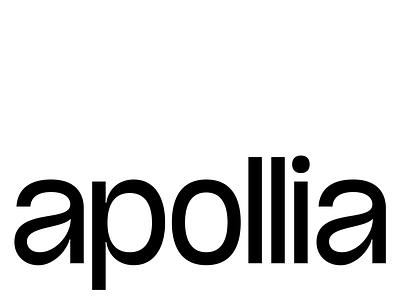 apollia ui logo illustration typeface display font typography letters design type