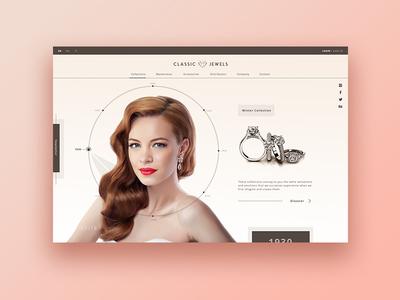 Jewelry Manufacturers  ► Web Design beauty fashion women manufacturer jewelry graphic inspiration creativedesign interface design ux design ecommerce web development web design