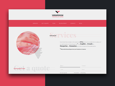 Varadinum Web Design wordpress graphic design ux design development ui design development agency web design