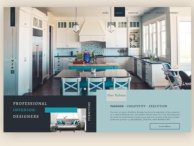 Residential interior design  ► Web Design interface design templates interface designer interface design minimalism webdesigner webdesign web tamplate