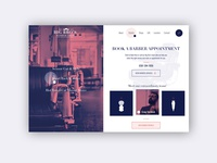 Barber Shop ► Web Design