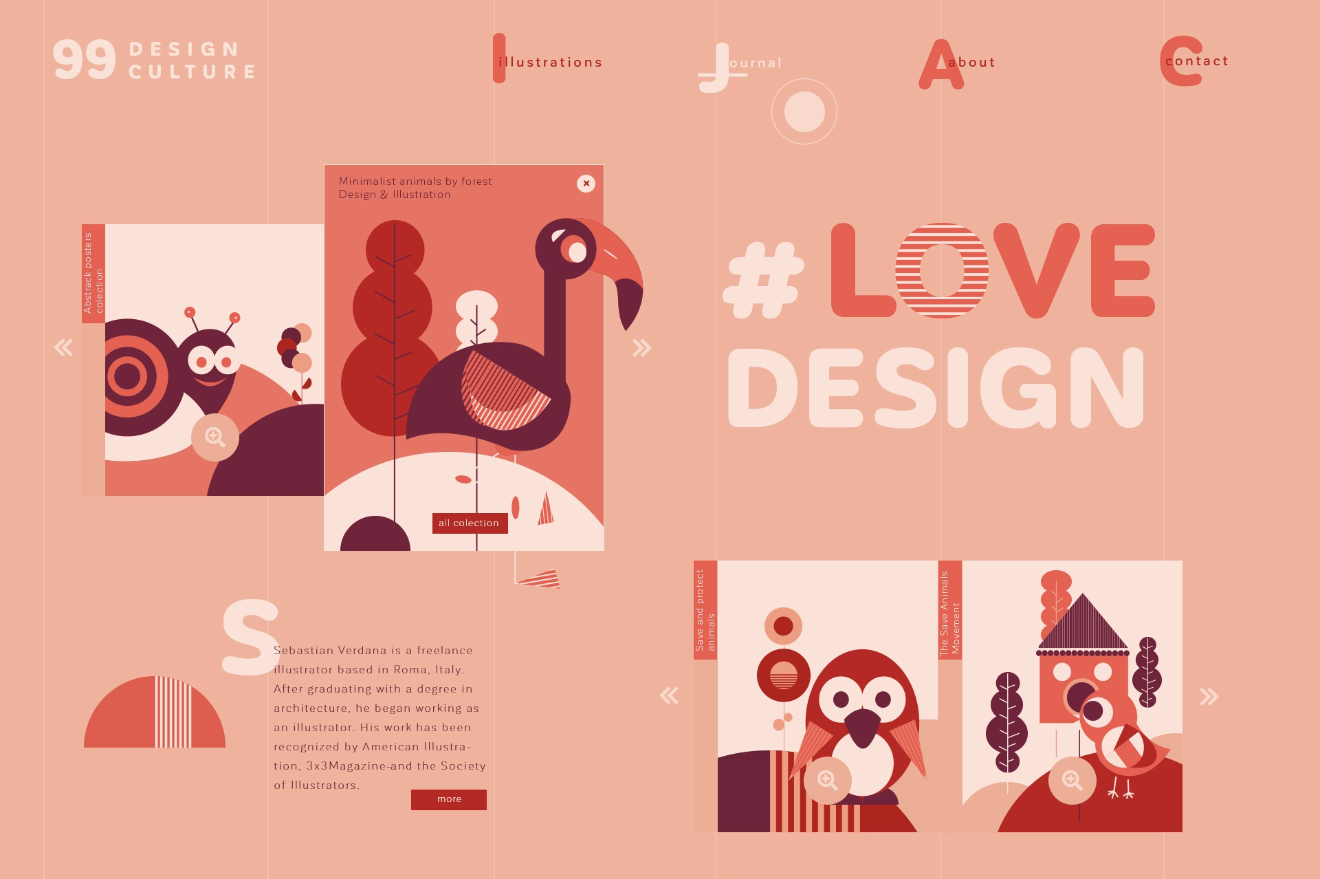 Freelance illustrator webdesign concepts 010 19