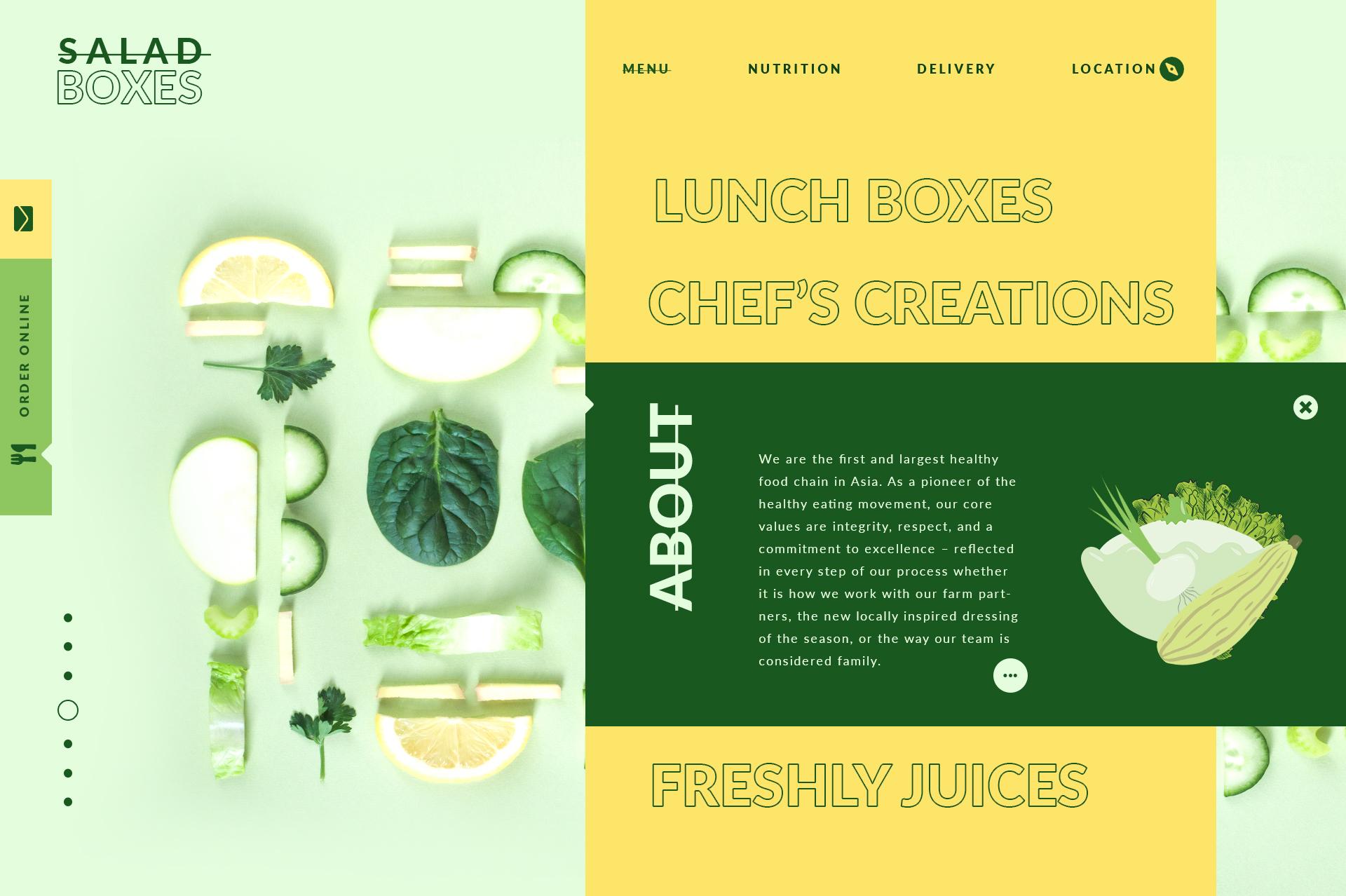 Salad bars webdesign concepts 013 19