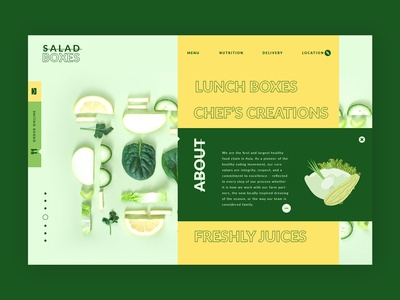 Salad Bars ➥ Web Design