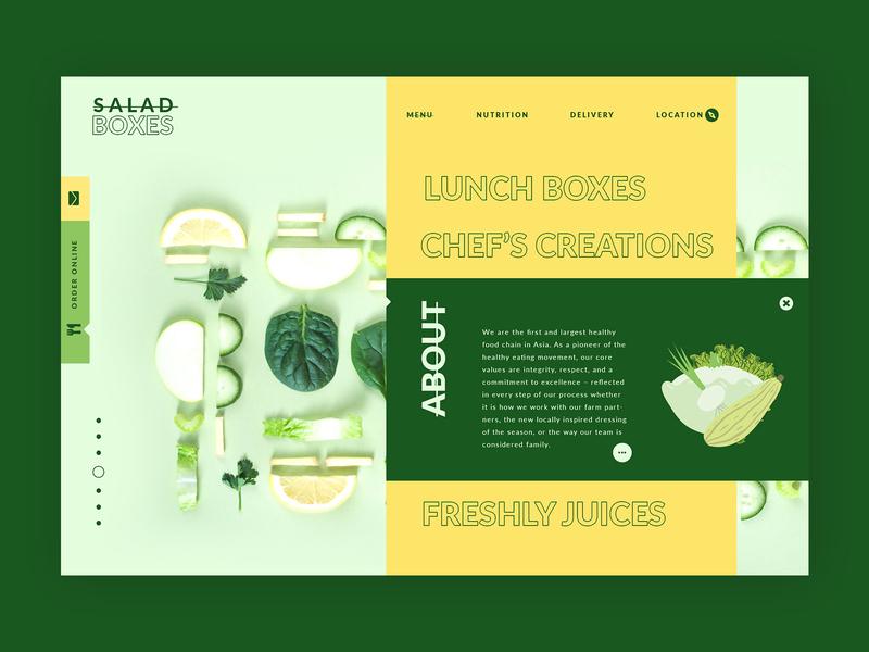 Salad Bars ➥ Web Design wordpress home page graphic design web design collection graphic inspiration creativedesign interface design ux design web development web design layout