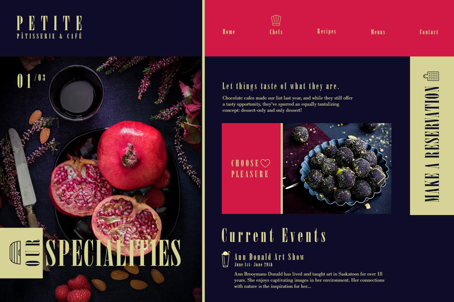 P tisserie   caf  webdesign concepts 015 19