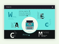 Typewriter Company ➥ Web Design