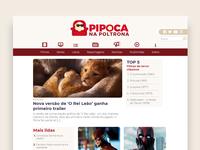 Pipoca na Poltrona - Website